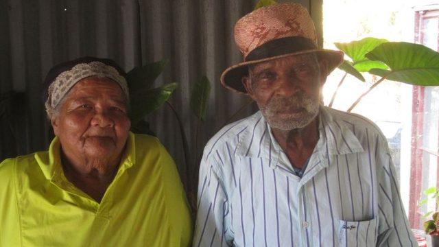 Fredie Blom ve 85 yaşındaki eşi Janetta